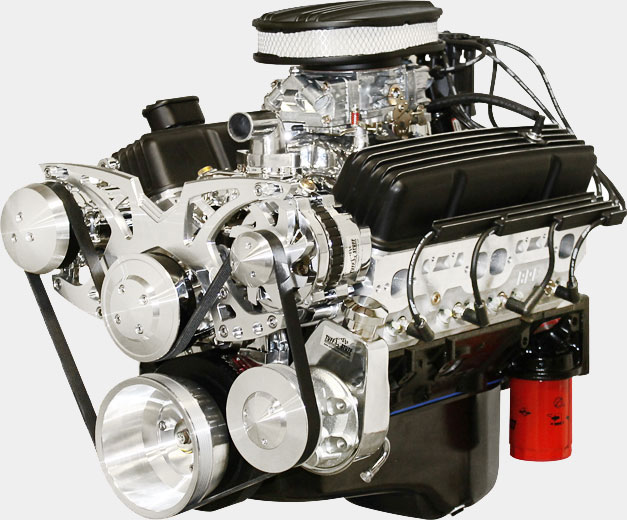 Blueprint 383 400 FF Chevy Carbureted med